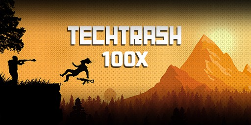 EU 100X TechTrash background