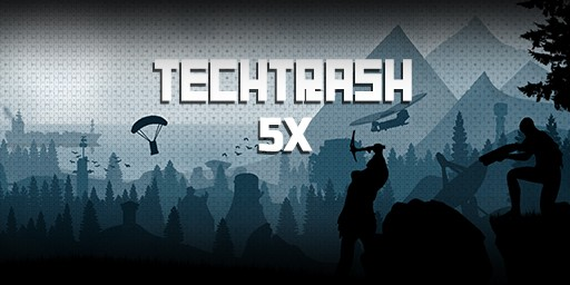 EU 5X TechTrash background