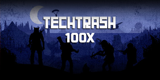 US 100X TechTrash background