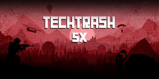 US 5X TechTrash background